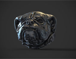 Ring Bulldog 3D print model