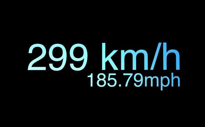 speed tachometer 3d model rigged c4d 1