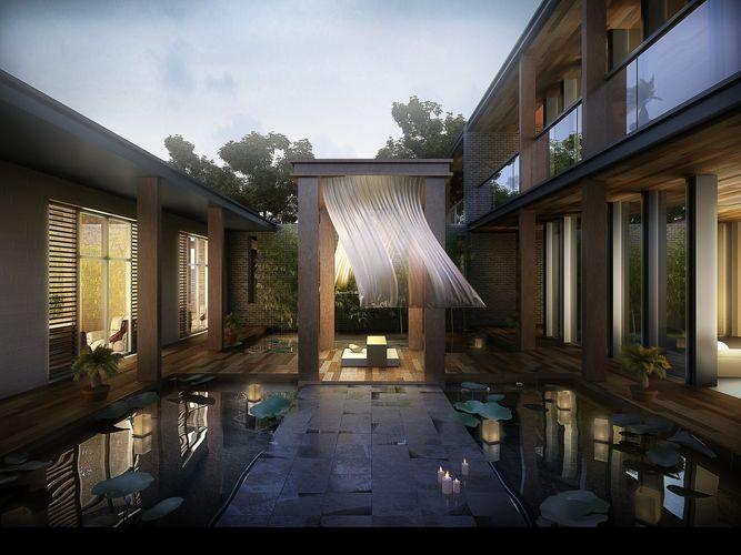 villa 117 3d model max tga 1
