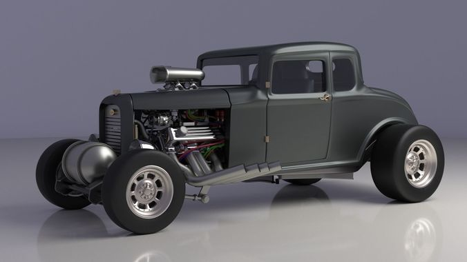 coupe 1932 3d model max obj mtl 1