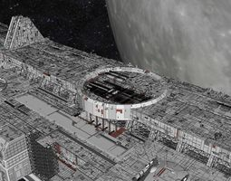 3D starship troopers lunar base