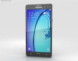 Samsung Galaxy On7 Black 3D