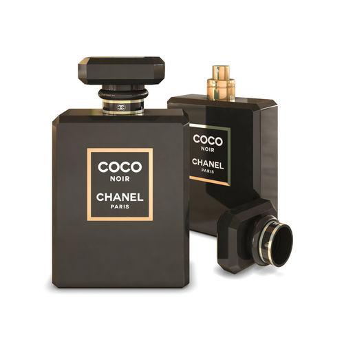 chanel coco noir perfume 3d model max obj mtl 1