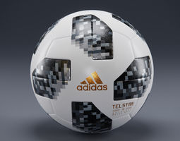 Telstar 18 - Adidas - Russia WorldCup-Official 3D model 3