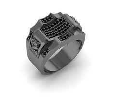 man ring jewelry design 3D printable model