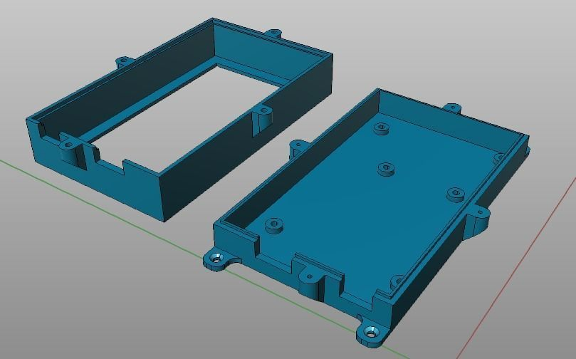 Box for ArduinoMega plus Sensor Shield