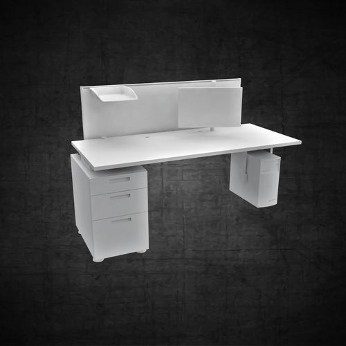 Office furniture workstation computer filing cabinet chair table
