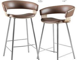 Barstool and Counter Stool Mollie Allermuir 3D bar-stool