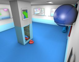 training club 3D model