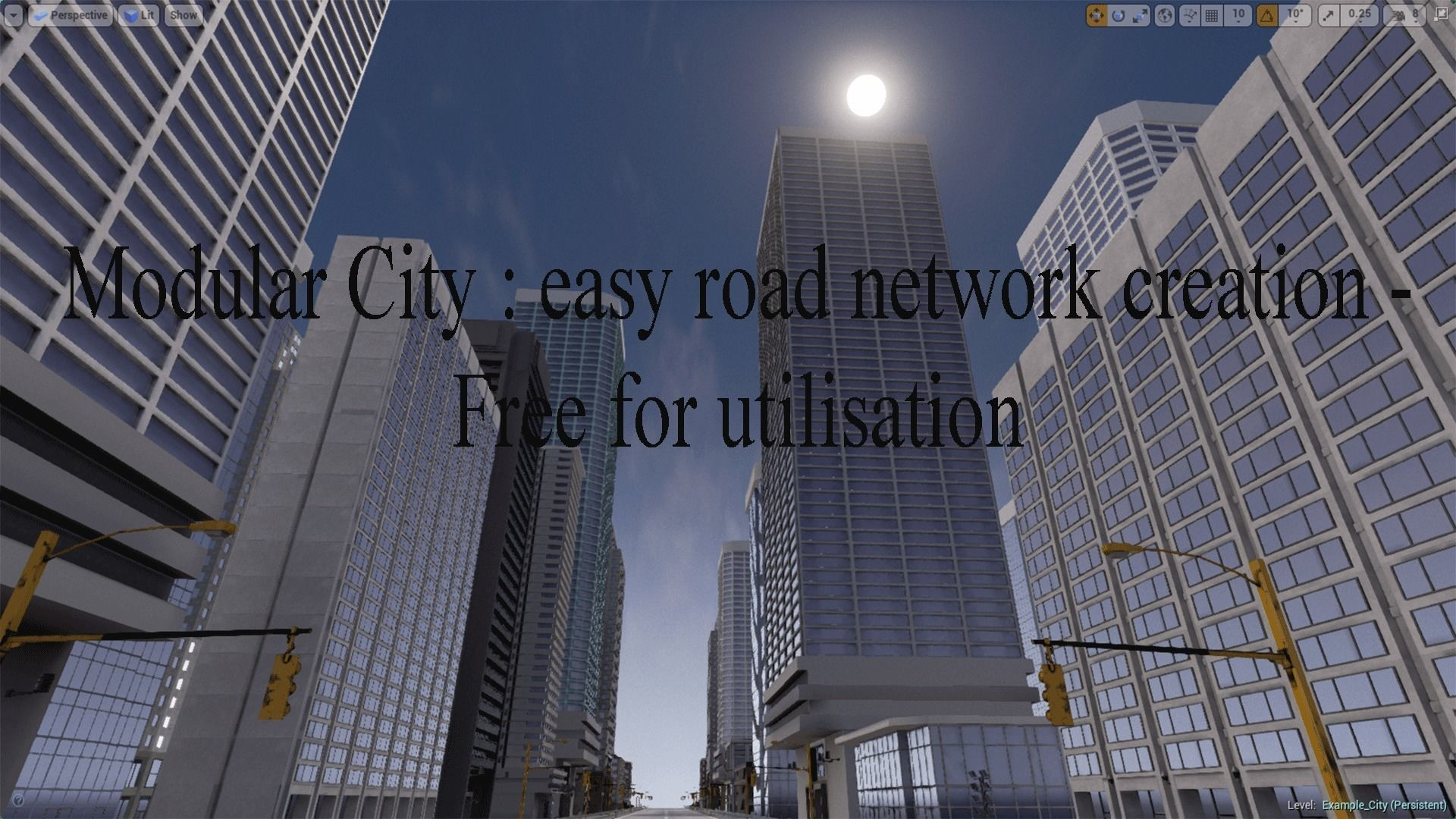 3D asset road network creator | CGTrader