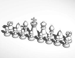 3D printable model Chess Set