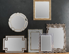 HORCHOW Mirrors Set 02 3D