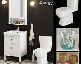 IKEA Bathroom Set 3D
