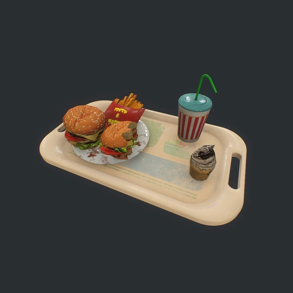Burger pbr