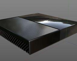 Xbox One 3D model electronics