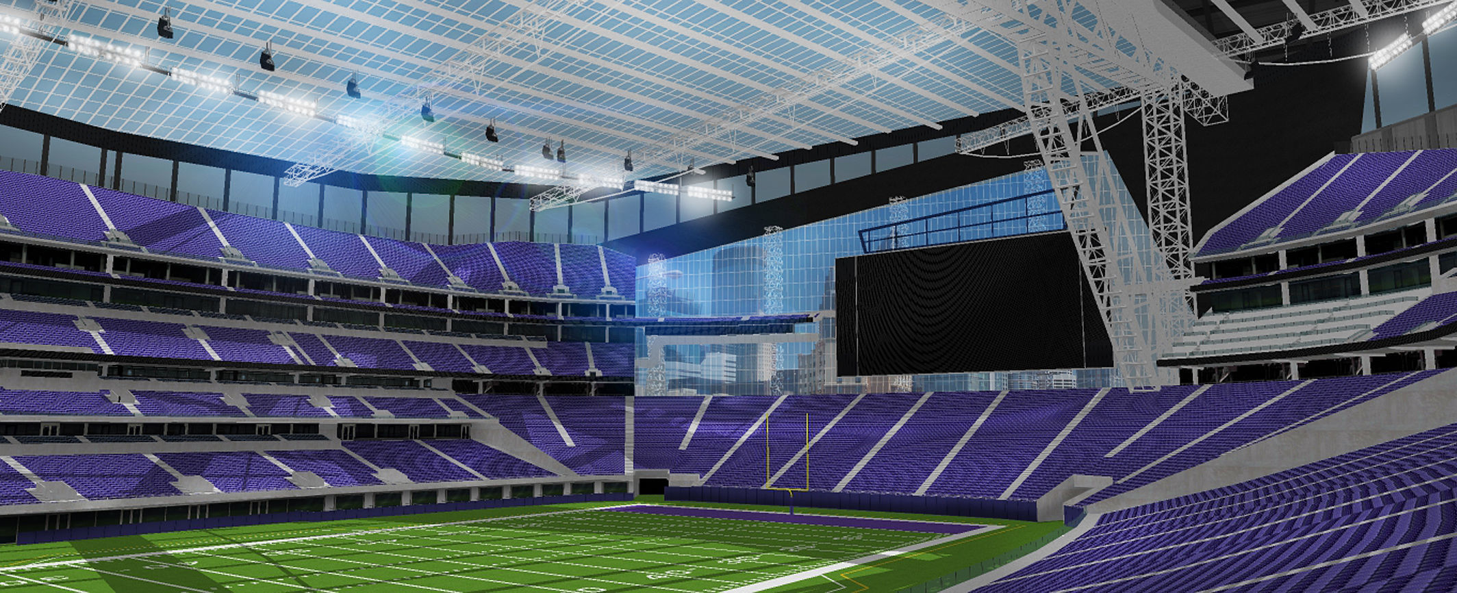 US Bank Stadium - Minnesota