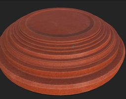 Clay Pigeon Target 3D model