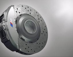 3d model bmw brake-system