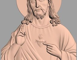 Christianity Jesus Christ Sacred Heart of Jesus Relief 1