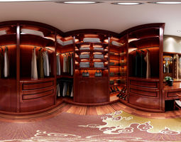 3D model New Chinese style interior