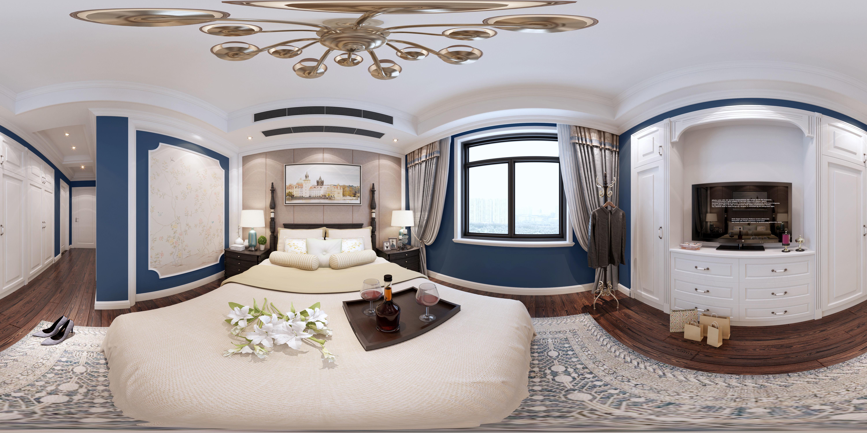 3D model American style Bedroom   CGTrader