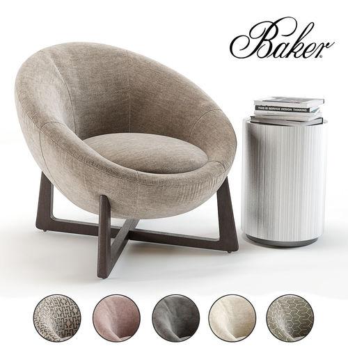 Miraculous Baker Pod Lounge Chair 3D Model Download Free Architecture Designs Scobabritishbridgeorg