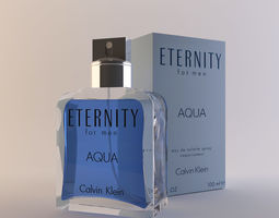 Calvin Klein Eternity for men Aqua 100ml 3D
