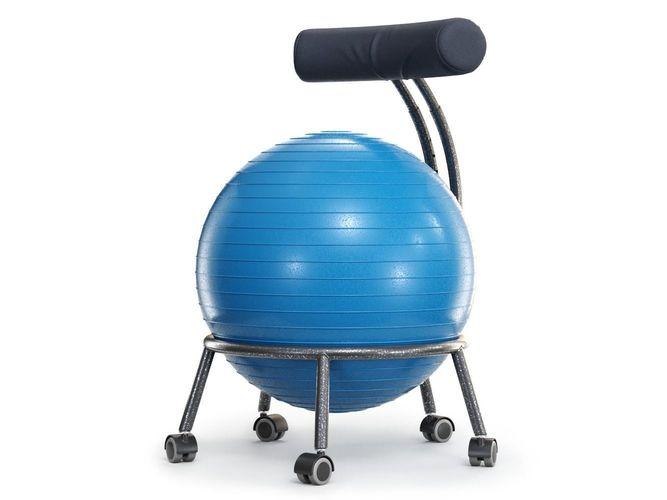Yoga Ball Office Chair Model Cgtrader