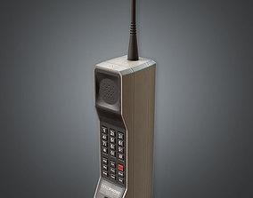 Cellular Phone 80s 3D asset