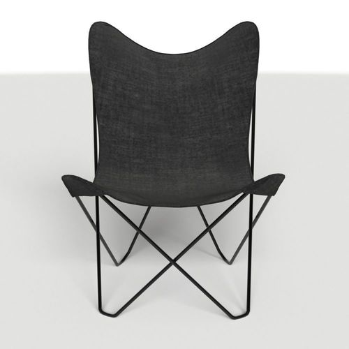 Attirant ... Canvas Butterfly Chair 3d Model Max 3 ...