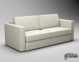 Sofa FREE 3D model low-poly