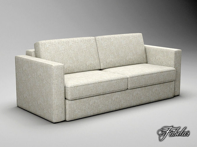 sofa free 3d model 3d model max obj 3ds fbx c4d dae 1