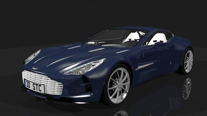 Aston Martin One 77 Detail Model 3D Model