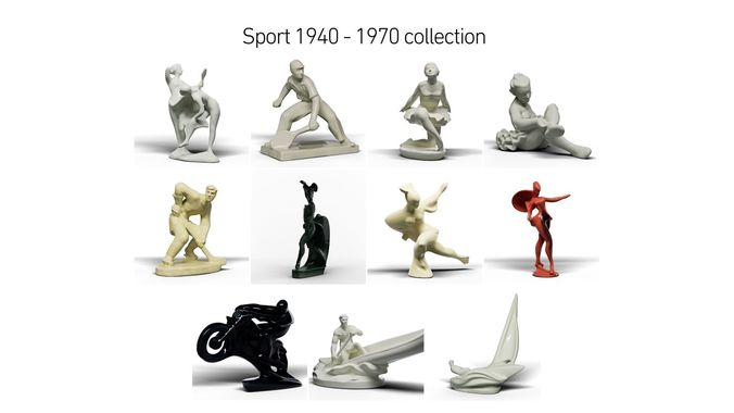 Sport 1940 - 1970 collection