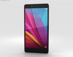 Huawei Honor 5X Gray 3D