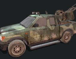3D asset Toyota Hilux Artillery