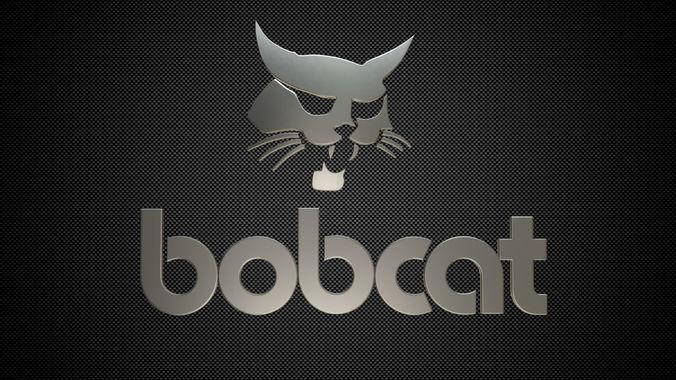 bobcat logo 3d model obj mtl 3ds fbx c4d lwo lw lws ma mb 1