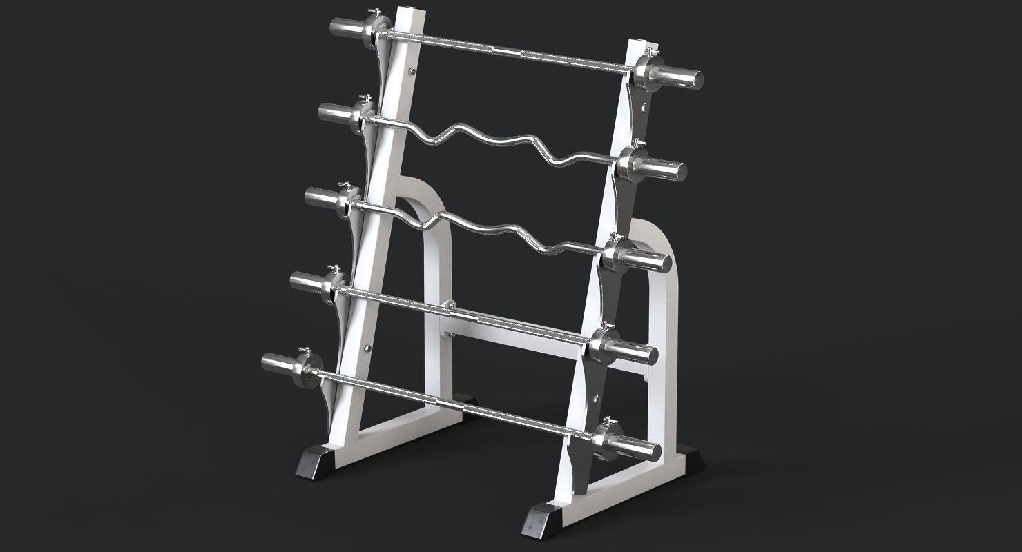 Barbell Rack | 3D model