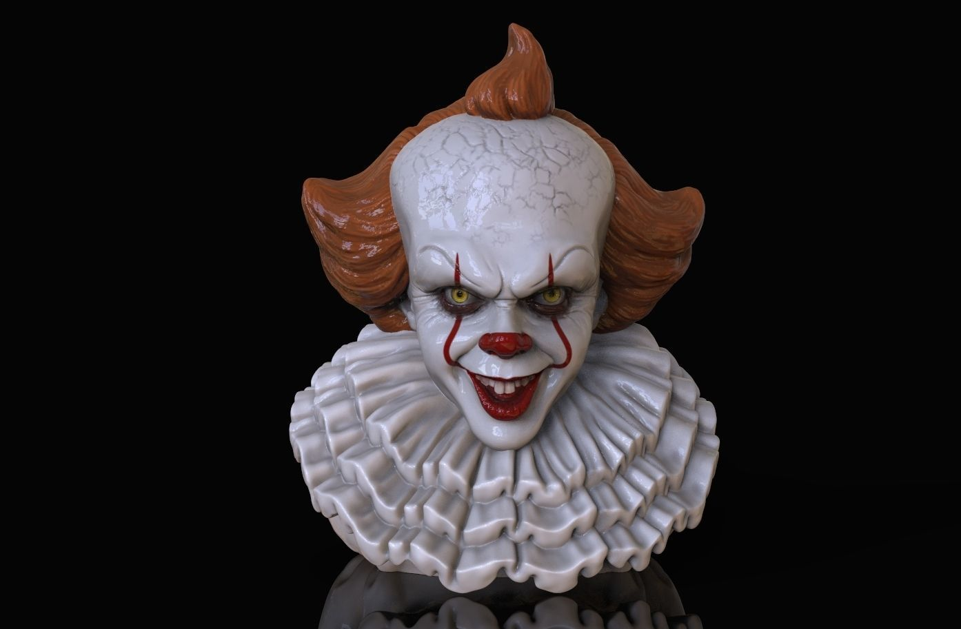 PENNYWISE CLOWN IT2 3D print model