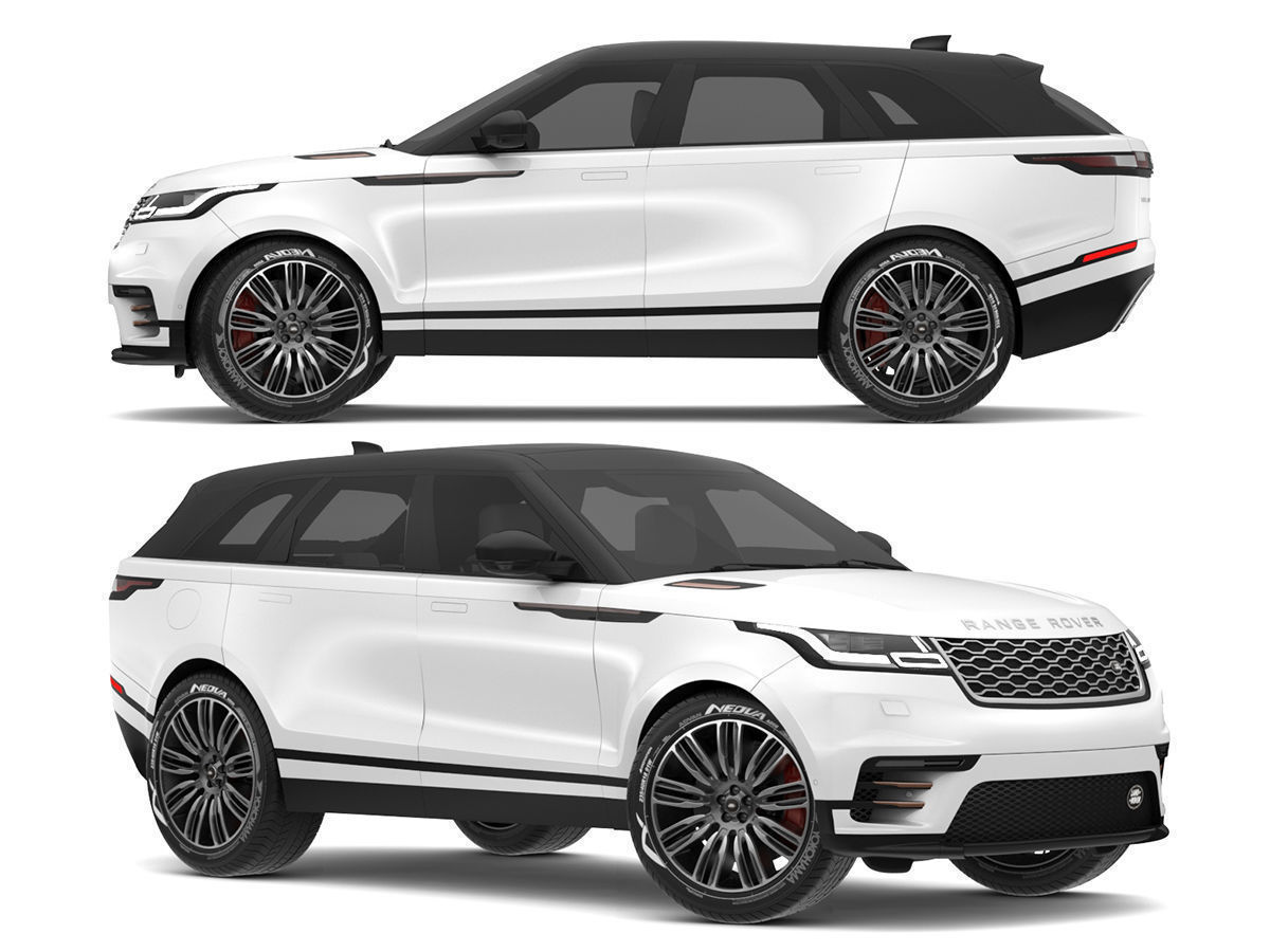Land Rover Models >> 2018 Land Rover Range Rover Velar Fuji White 3d Model