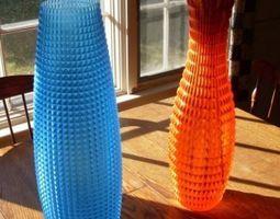 3D printable model Vase home Faceted