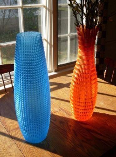vase home faceted 3d model stl 1