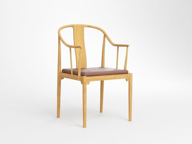 Hans Wegner Chinese Chair 3D Model