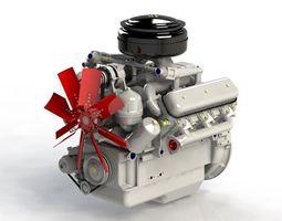engine yamz236 3d printable model