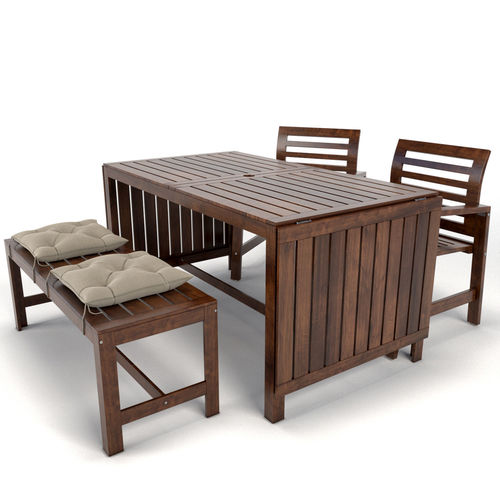 garden furniture applaro ikea 3d model - Garden Furniture 3d