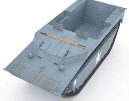 LVT 4 US - Guadalcanal 3D model