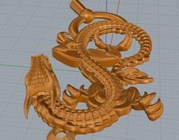 collection dragon 3D print model