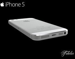 iPhone 5 FREE 3D Model