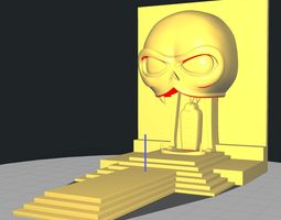 MummRa Sarcophagus and Vision 3D print model