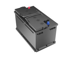 3D model 12 Volt Car Battery